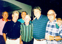 A group of guys 1998
