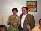 Mary Hayes and Gene Johnson
