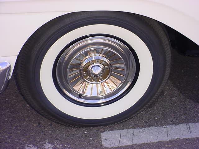 57 Ford 292 cu.in. wheel