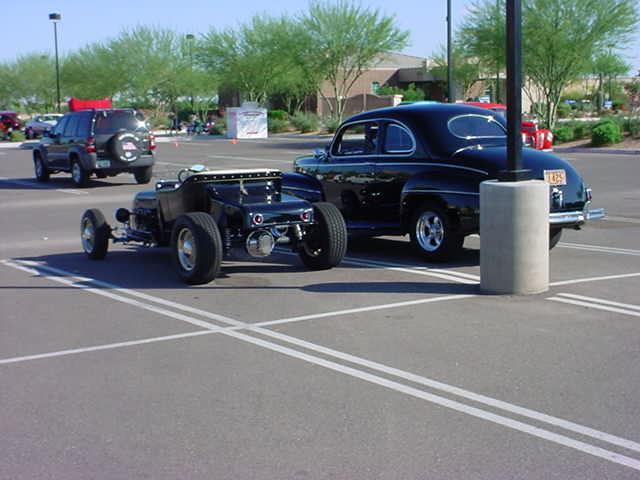 two black fords