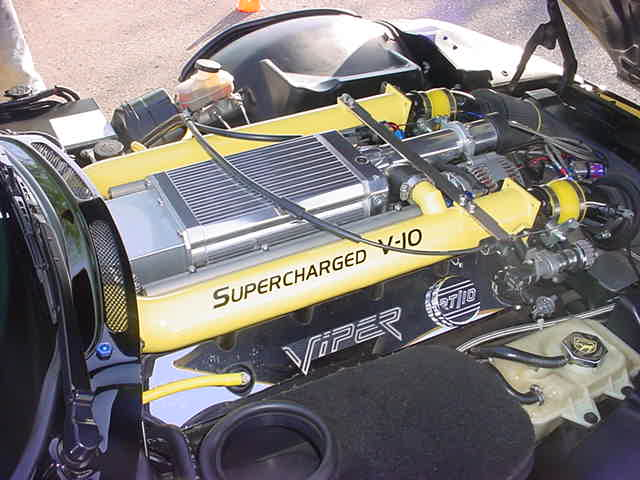 supercharged<br> Viper V 10