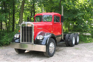 Red 1963 Kenworth<br> w925 Cab  Chassis