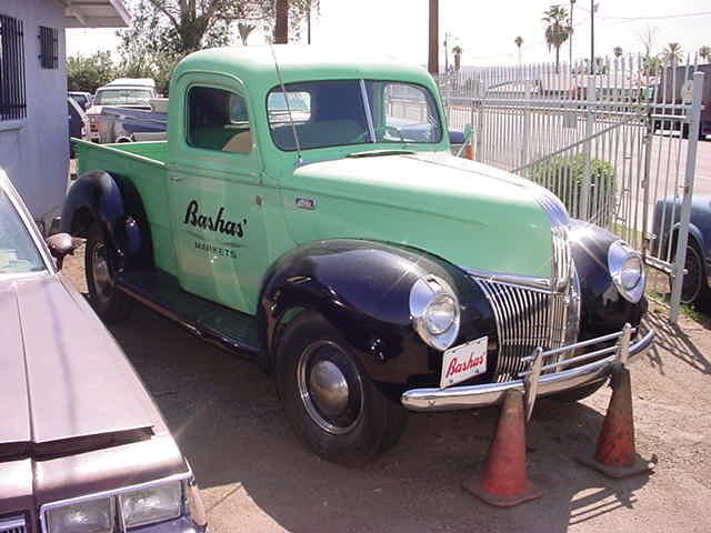 1940 Ford Bashas truck