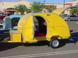 yellow trailer