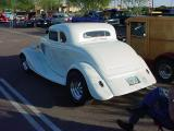 1934 Ford five window coupe