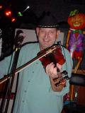 Chuck Lewis  on fiddle