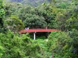 The red bridge, Byodo In