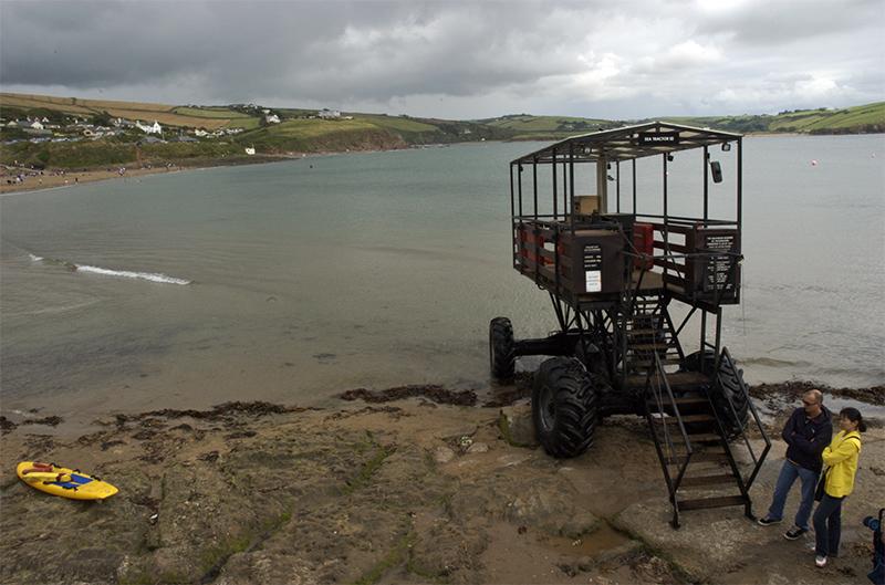 Sea Tractor at Bigbury-on-Sea