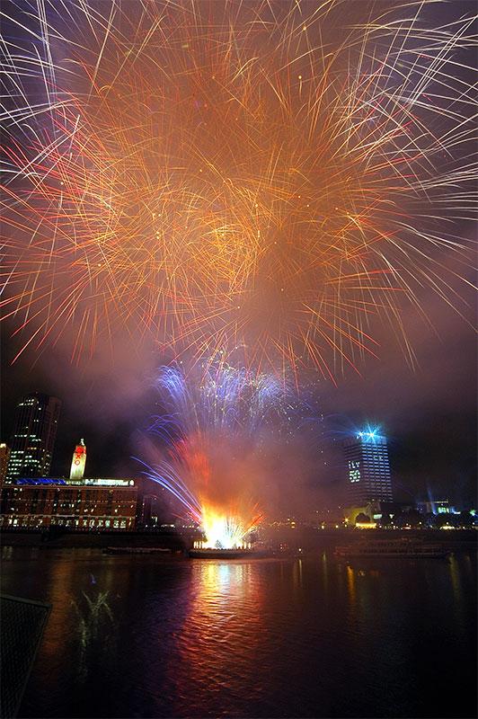 Fireworks @ Thames Festival