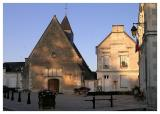 Chenonceaux - church, school, mairie