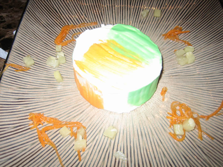 my carrotcake from Senor Sweets
