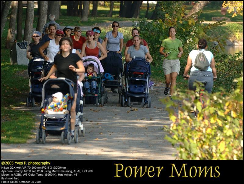 Power moms ...