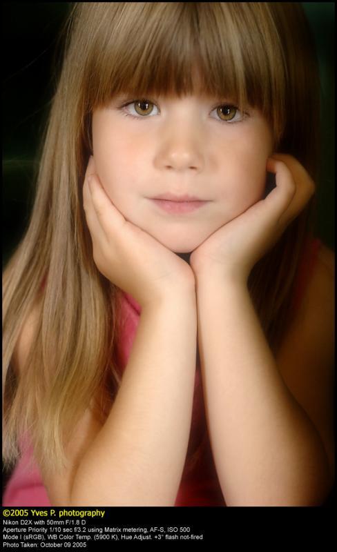 Posing ...  (October 2005)