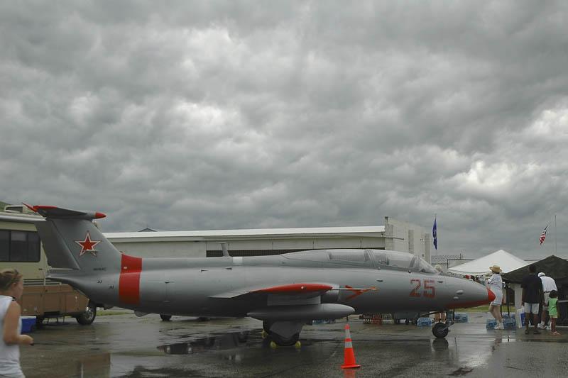 Czech-made Aero L-29 Delfin