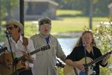 Rick, Bill Doc Hagen, and Maggie of the Riverside String Band