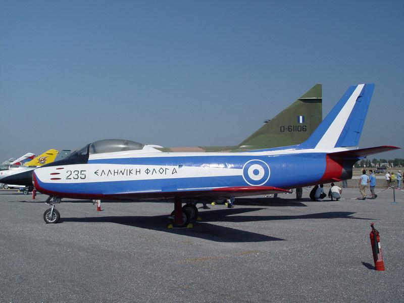 Greece North American Aviation F-86D Sabre Dog