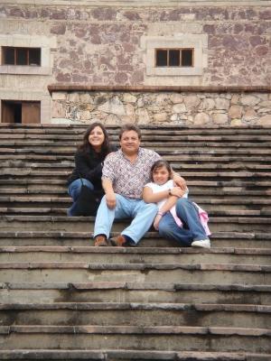 Sandra, Mariano y Diana