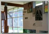 Jacob's Creek history plaques inside VC