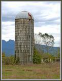 The silo.