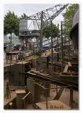 Ship repair in old harbour