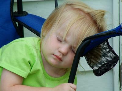 lexi asleep