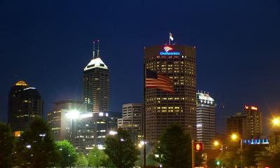 Downtown Indianapolis July 4,2005