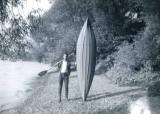 Built this canoe for 12/6d in 1963