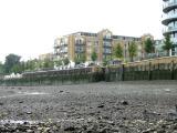 New flats built on old factory sites just below Putney bridge.