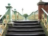 Path across Richmond footbridge.