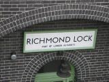 Richmond Lock sign.