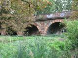 Richmond railway bridge arches, Surrey side.