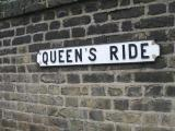 Queens Ride. B 306, Barnes, The road where Marc died.