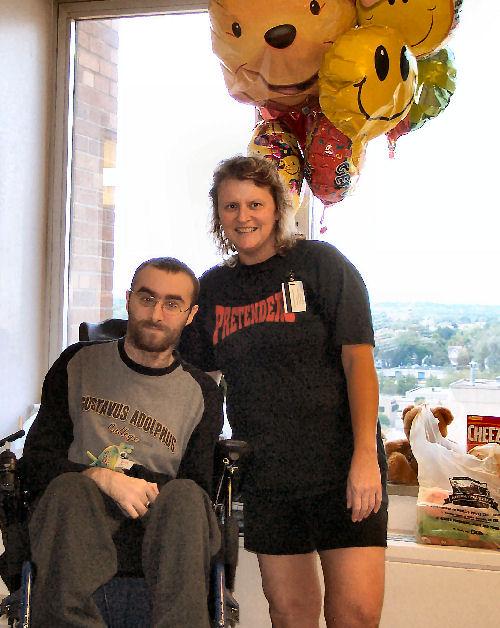 Jake and Terri, May, 2005