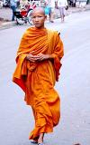 Phnom Penh, Buddist monk