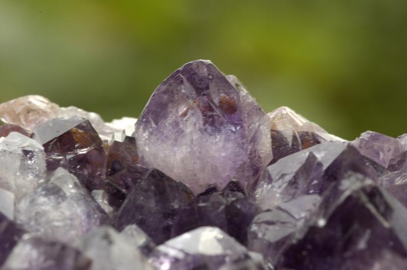 HM3; Amethyst Crystals by Chris