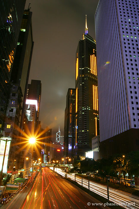 Into Wan Chai and Admiralty