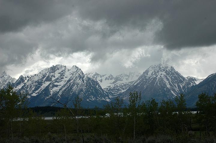 Grand Tetons, First View