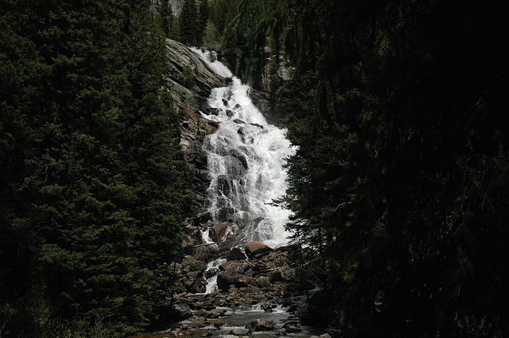 Jenny Lake Area Falls, Grand Tetons