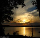 Sunset October 15 *