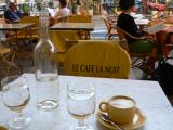 Cafe Creme at Le Cafe la Nuit