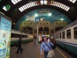 Venice Train Station- catching our sleeper train to Munich