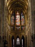 Inside St. Vitus Cathedral, Prague
