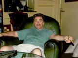 Uncle Paul at cigar bar