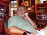 The old man at the cigar bar