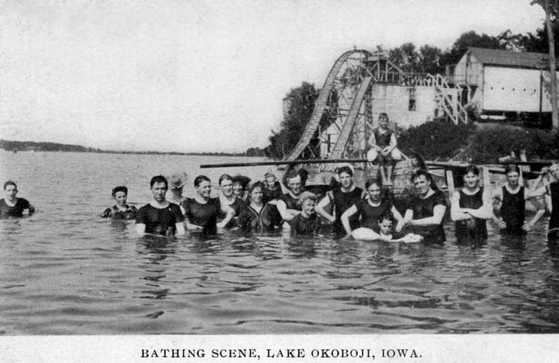 Bathing Scene 1907