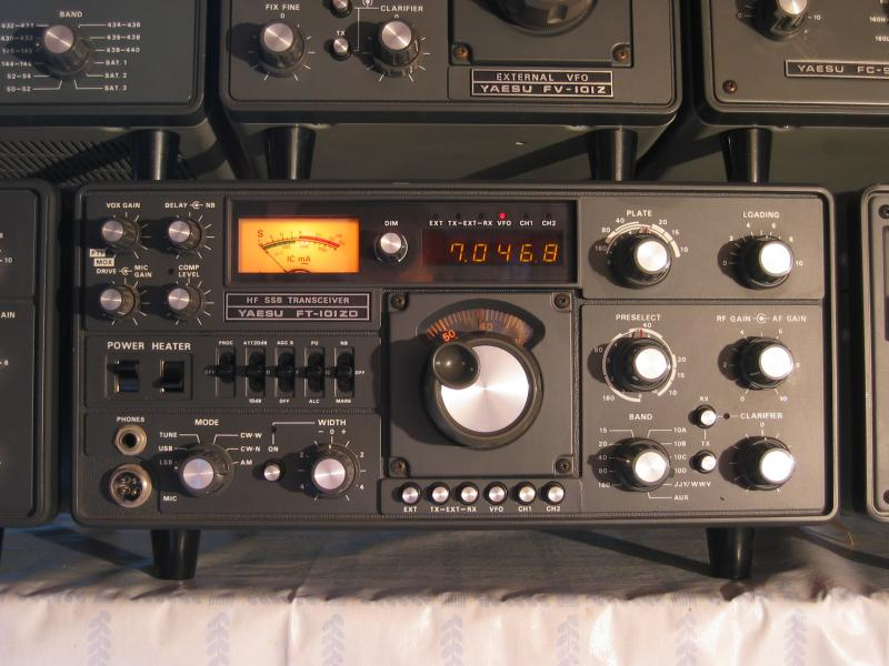 FT101ZD MK1 with AM modul