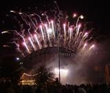 Fireworks on the Tyne Bridge