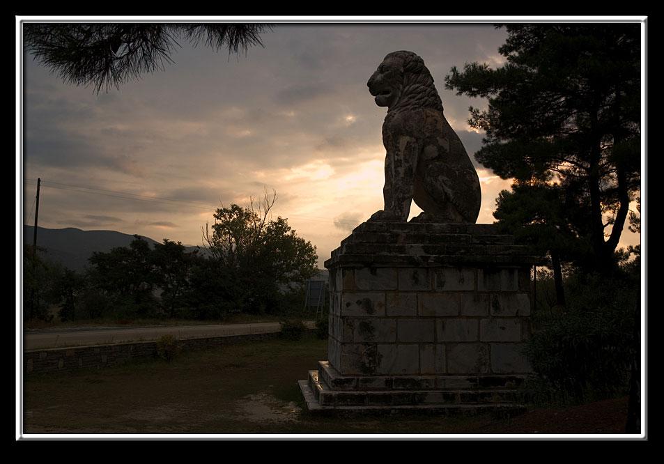 Amphipolis Lion, Macedonia