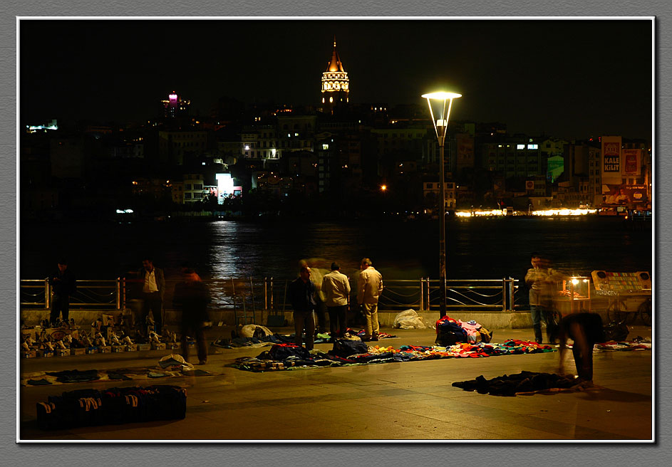 Night peddlers, Istanbul