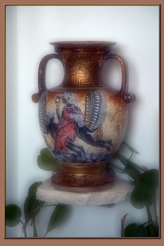 A Roman vase